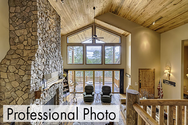 Professional real estate photo